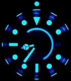 Uhr Leuchtpunkt Lünette Deep Sea ICE Crosswind GMT Seamaster Submariner Chronomat