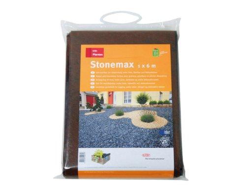 Plantex 4230795 mauvaises herbes tissu de contrôle stonemax, 1 x 6 m