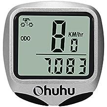 Ohuhu A Prueba de Agua Wireless Computadora de la Bicicleta Speedo