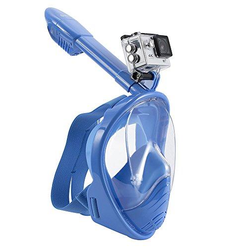 wstoo 180° de la cara llena Snorkel Gafas de vista panorámica Snorkel...