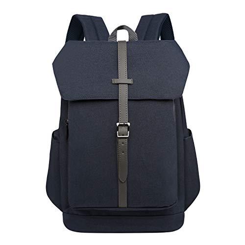 Wind Took 14 Zoll Laptop Rucksack Backpack Daypack Schulrucksack Notebook Damen Herren für Uni Arbeit Campus Freizeit