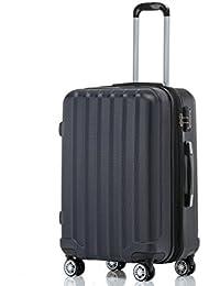 BEIBYE TSA-Schloß 2080 Hangepäck Zwillingsrollen neu Reisekoffer Koffer Trolley Hartschale Set-XL-L-M