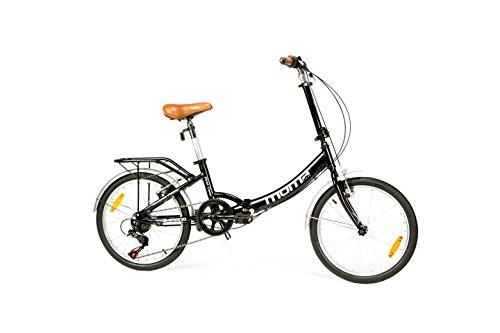 Moma Bikes Bicicleta Plegable Urbana SHIMANO FIRST CLASS 20'...