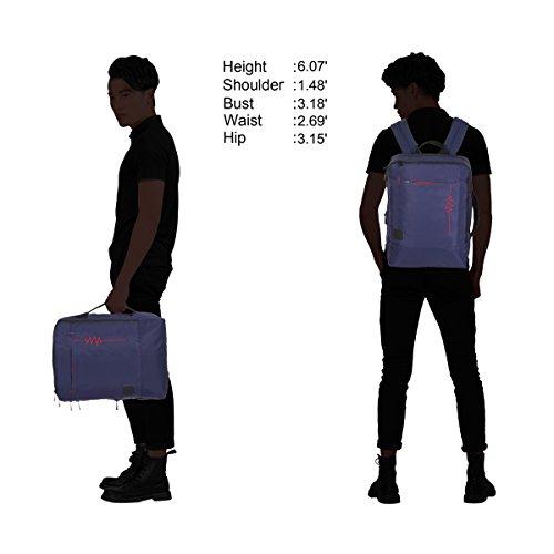 Imagen de veevan  para ordenador portátil de 15,6 pulgadas  de viaje para negocios o casual 18 litro alternativa