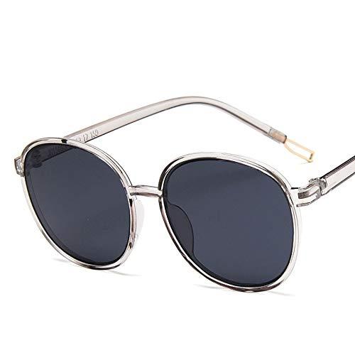 GUOTAIEUP Klassische Sonnenbrille Eyewear Eyeglasses Große Sonnenbrille Frauen Markendesigner Fahren Einkaufen Bonbonfarben Brille Straße SchießenGraygray