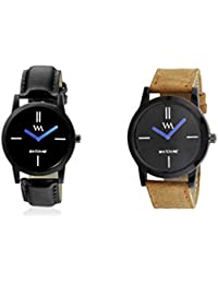 Watch Me Gift Combo Set For Him/Watches For Men/Watches For Boys (watches 3 Combo/watches 2 Combo) WMC-002-BR-WMC... - B0778LV3XD