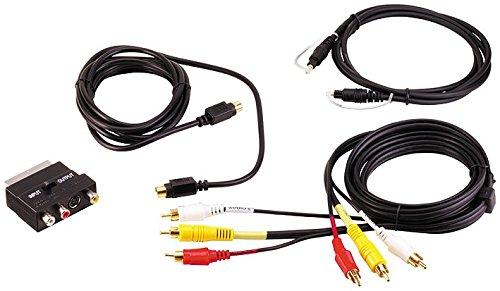 Ett Vielseitiges Video-Kabelset DVD-Kit Cinch S-VHS Kabel Stecker Toslink Adapter Video Toslink Audio Kit