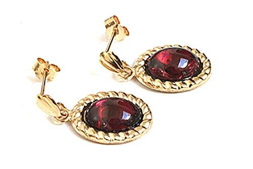 peninsula-jewellery-hangeohrringe-9-kt-gold-mit-granat