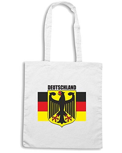 T-Shirtshock - Borsa Shopping TSTEM0025 deutschland 1 Bianco