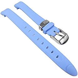 Calypso Replacement Watch Strap PV/Light Blue for Children's Watch K5163/4 K5163