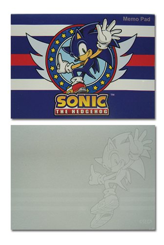sonic-the-hedgehog-sonic-notepad-memo-pad-us-import-original-licensed-includes-free-delivery