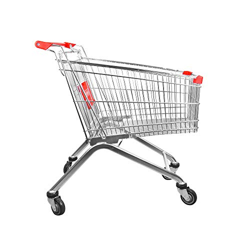 Yonhoo [471125] Carro Metálico Supermercado 125 litros
