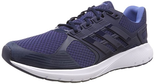 adidas Duramo 8 M, Zapatillas de Running para Hombre, Negro (Carbon/Core Black/Hires Red 0), 43 1/3 EU