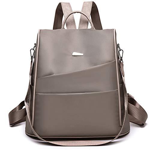Miss Fortan Damen Rucksack, Outdoor Einfarbig Oxford Rucksack Reisetasche Umhängetasche