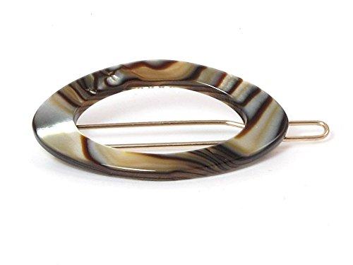 Barrette Tige Boule Clara | Fabriquée à la main en France