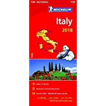 Italy 2018 - Michelin National Map 735 (Michelin National Maps)