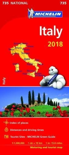 Italy 2018 (Michelin National Maps)