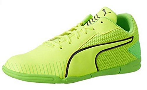 Puma 365 CT Futsalschuhe Halle grün-gelb Safety Yellow – Puma Black – Green Gecko, 46.5 (UK 11.5)
