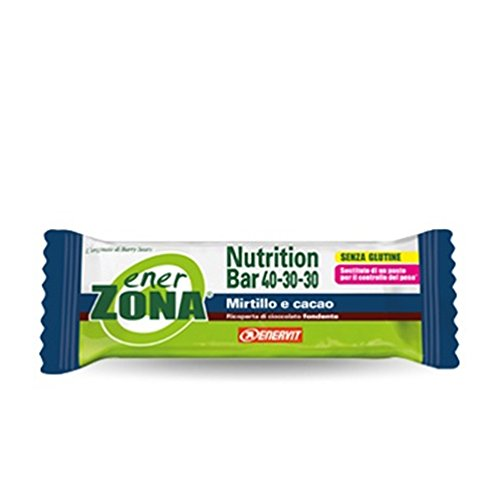 EnerZona Nutrition Bar Mirtillo E Cacao 1 Barretta 53 gr - 41n72EPt9HL