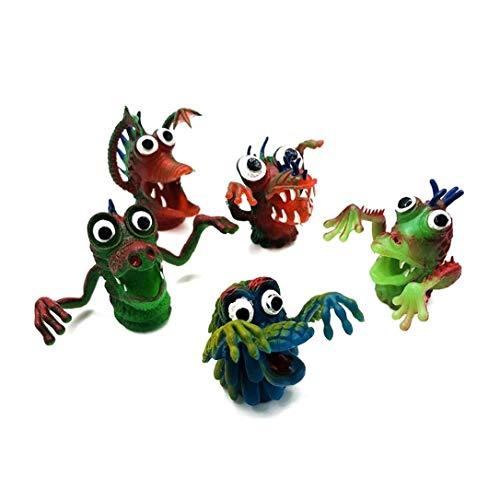 wwzEITpV 5 Pcs Finger Poupées Jouets Pour Enfants Bébé Jouer Histoire Steller En Savoir Toy Figure Finger Puppets