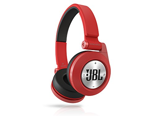 JBL BT Wireless Bluetooth On-Ear Stereo-Kopfhörer (aufladbar mit Superweichem Ohrpolster, geeignet für Apple iOS/Android Geräten) rot - 3