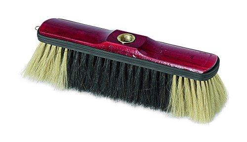 Preisvergleich Produktbild Sanifri 470015011 Stubenbesen,  volles Naturhaar,  lackierter Holzkörper mit Kantenschutz,  29 cm