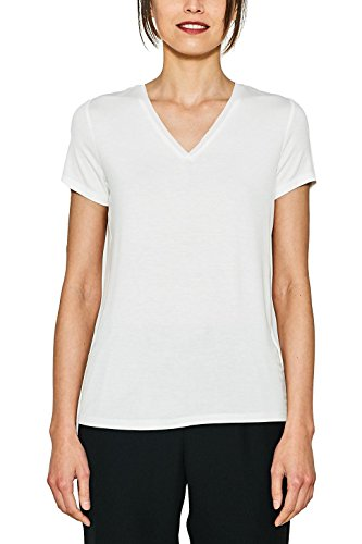 ESPRIT Collection T-Shirt Donna Bianco (Off White 110)