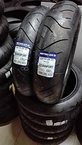 COPPIA GOMME PNEUMATICI METZELER RENNSPORT 120/70 ZR-17 58W 160/60 ZR-17 DOT 2018
