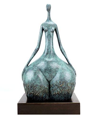Moderne Kunst - Voluminöser Akt - signiert Martin Klein - limitiert - Erotik Akt - Erotische Akt Skulptur - Erotische Frauenfigur - Skulpturen online kaufen - Modern Art