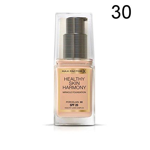 Max Factor Healthy Skin Harmony Miracle Grundierung - 30 Porcelain (Und Schutz Shine Control)