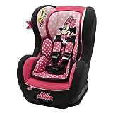 Disney Kindersitz Kinder Autositz Kinderautositz Autokindersitz Auto Rosa Schwarz Gruppe 0/1 0-18 kg Geburt-4 Jahre 3 Positionen Verstellbar