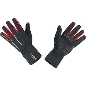GORE BIKE Wear Men's Rain Cycling Gloves, GORE-TEX, UNIVERSAL GT Gloves, Size 6, Black, GGPOWE