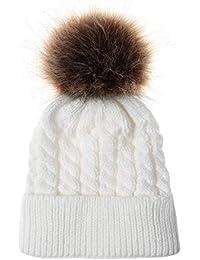 Amphia Lindo recién nacido niño niños bebé niña niña algodón sombrero invierno cálido gorra