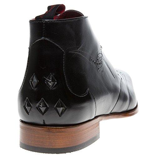 Jeffery West J922 Homme Boots Noir Noir
