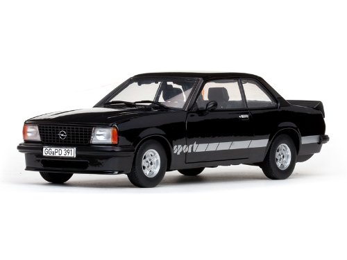 Sun Star 5391 - Sammlermodell Opel Ascona B Sport, schwarz, 1:18