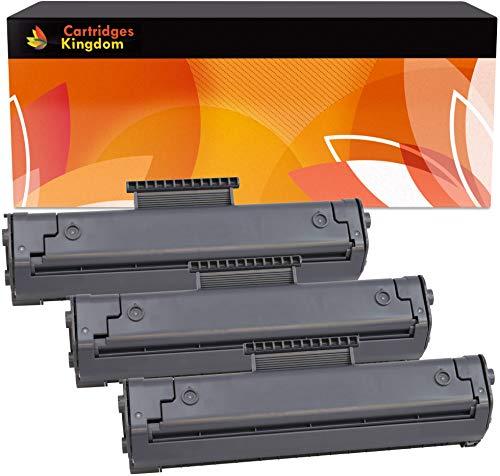 Cartridges Kingdom 3-er Pack Toner kompatibel zu HP C4092A 92A für HP Laserjet 1100 1100A 1100SE 1100XI 3200 3200M 3200SE Canon LBP-800 LBP-810 LBP-1110 LBP-1120 LBP-200 LBP-250 LBP-350 - Drucker 92 Hp Patrone