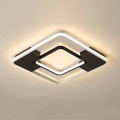 GBLY led Deckenleuchte dimmbar Deckenlampe moderne Deckenbeleuchtung, 3000K-6000K einstellbar mit Fernbedienung, für Schlafzimmer Wohnzimmer Esszimmer Restaurant Cafe (Kleine)