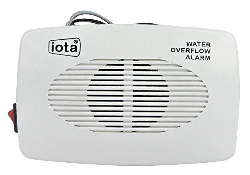 Iota Plastic Water Tank Overflow Siren (Standard Size, White)