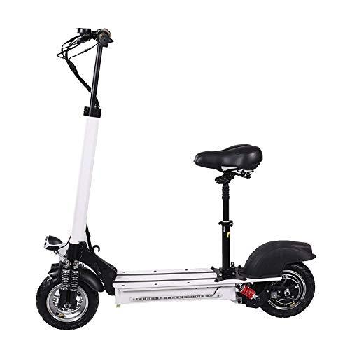 Haojiechunxiang Elektroroller Adult Faltbare Driving Zweirad Roller 8 Zoll Mini Electric Bicycle,40KM