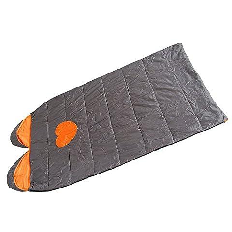 Doppel Paar Camping Schlafsack FrüHling Und Herbst-Schlafsack Im Freien