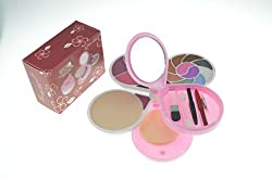 ADS Fashion Colour CInema Makeup Kit With Eyeshadow Lip Color Blusher Etc A-8148