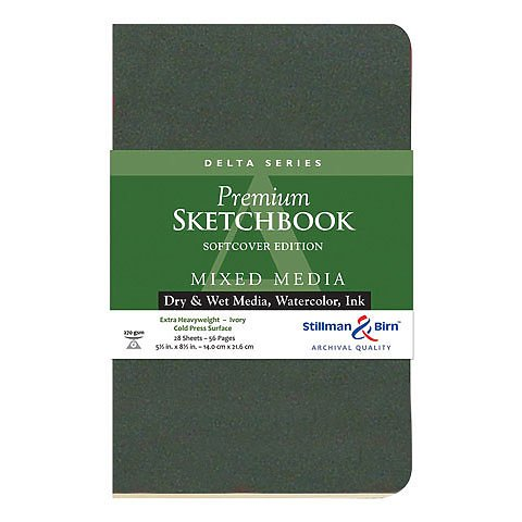 Delta Softcover Sketchbook 8.5X5.5 Ls by Stillman & - Birn-delta Stillman And