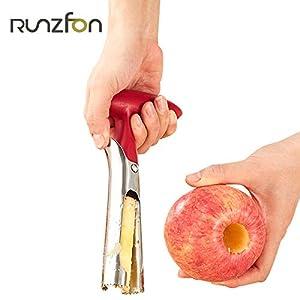 Ruiting Vide-Pommes Edelstahl Entkerner für äpfel/Obst Kreative Entkerner 18cm Haushaltsgegenstände