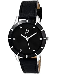 Eleganzza Analogue Black Dial Women's Watch - L021BlackF