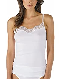 MEY 55350-1 Womens Elegance White Solid Colour Short Underslip