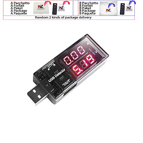 Voltmetro e amperometro digitale a LED da 1,4 cm, CC 100 V, 10 A, caricabatterie USB, per auto, moto, voltmetro