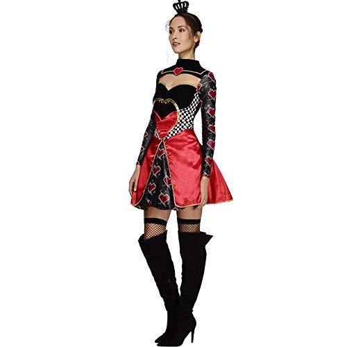 (Shisky Halloween kostüm Damen, Halloween-Kostüm Prinzessin Peach Herzen Outfit Uniform Hexenkostüm Maskerade)