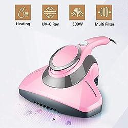 SMGLJJ Punaises de lit Acariens Aspirateur UV Anti-poussière Nettoyants Poche Matelas Mini Sweeper Maison Nettoyage Auto Outils Appareils