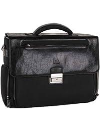 Pal Zileri Designer Aktentasche Notebook Business Tasche Bag Leder UVP*259€