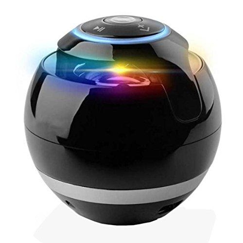 Preisvergleich Produktbild Beweglicher drahtloser Bluetooth Superbaß Stereolautsprecher für SmartPhone Tablet PC (Black)